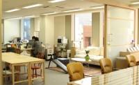 マテリアルを使った新しいオフィスの提案の画像